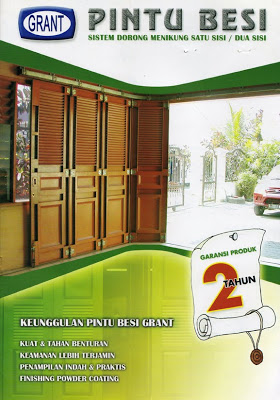 Pintu garasi grant dengan kualitas yang terjamin